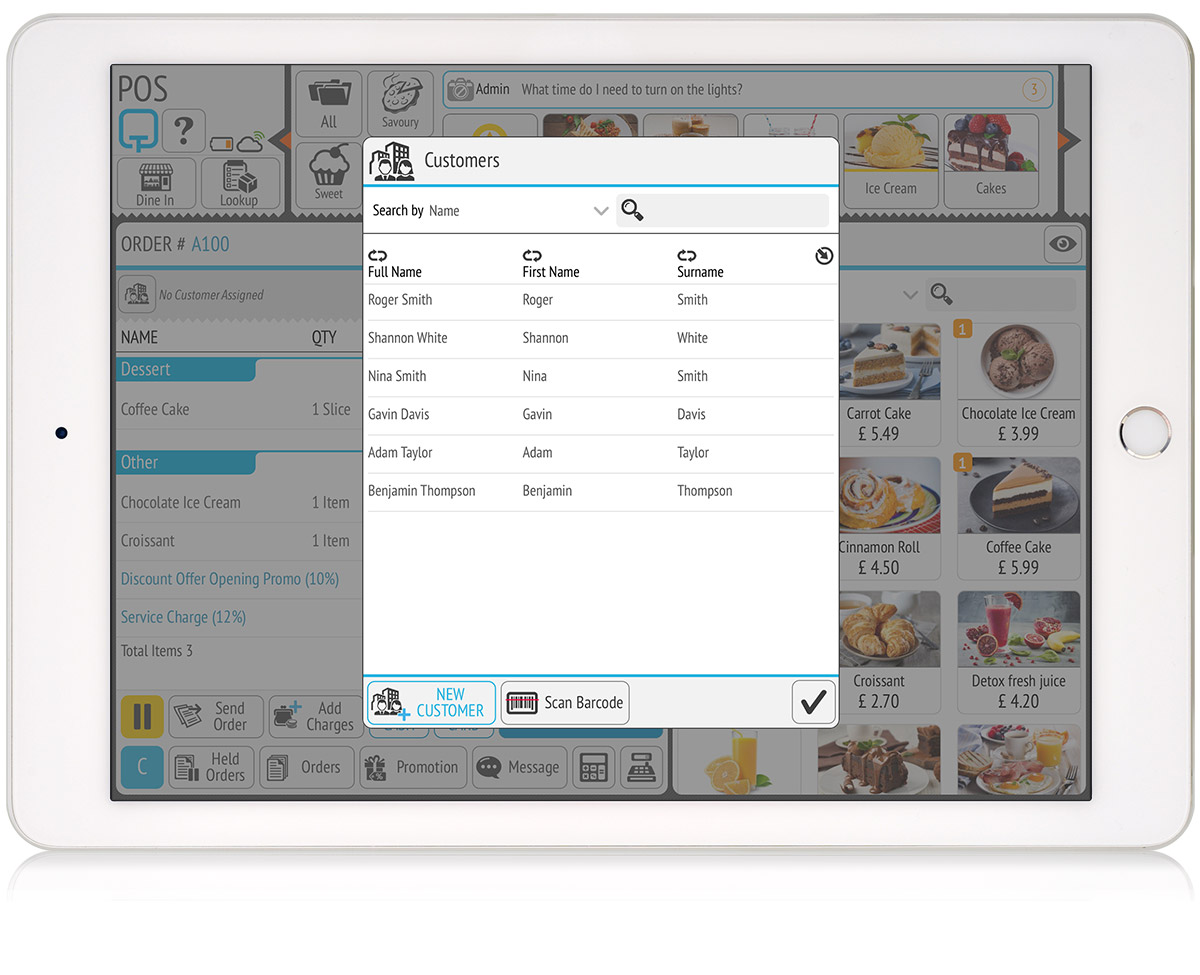tillpoint epos customer features to enhance customer relations
