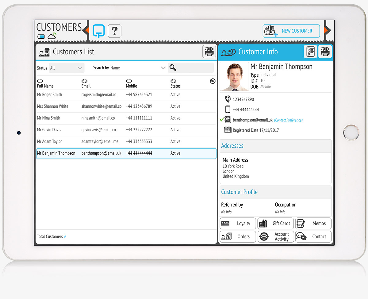 tillpoint epos customer relationship management