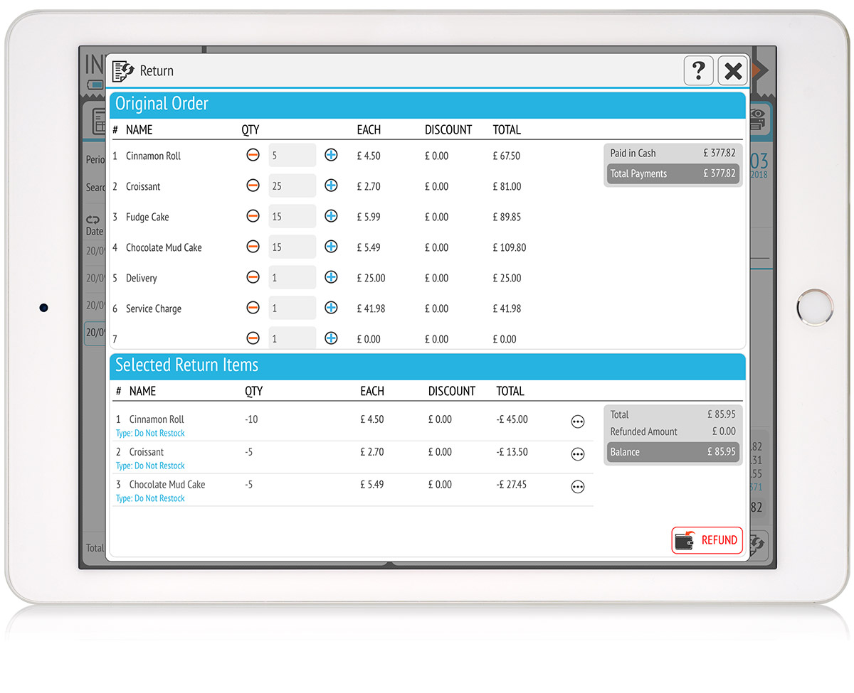 tillpoint epos invoicing data fields for everything