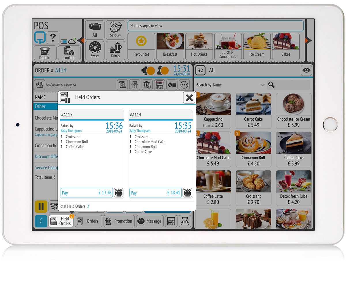 tillpoint epos order management benefit of a modular system