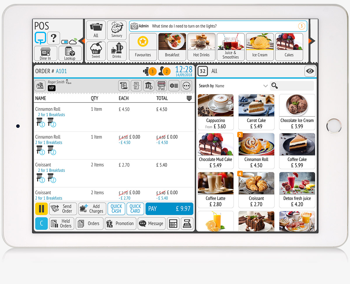 tillpoint epos pos complete point of sale