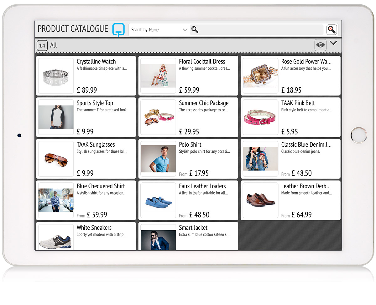 tillpoint epos product catalogue