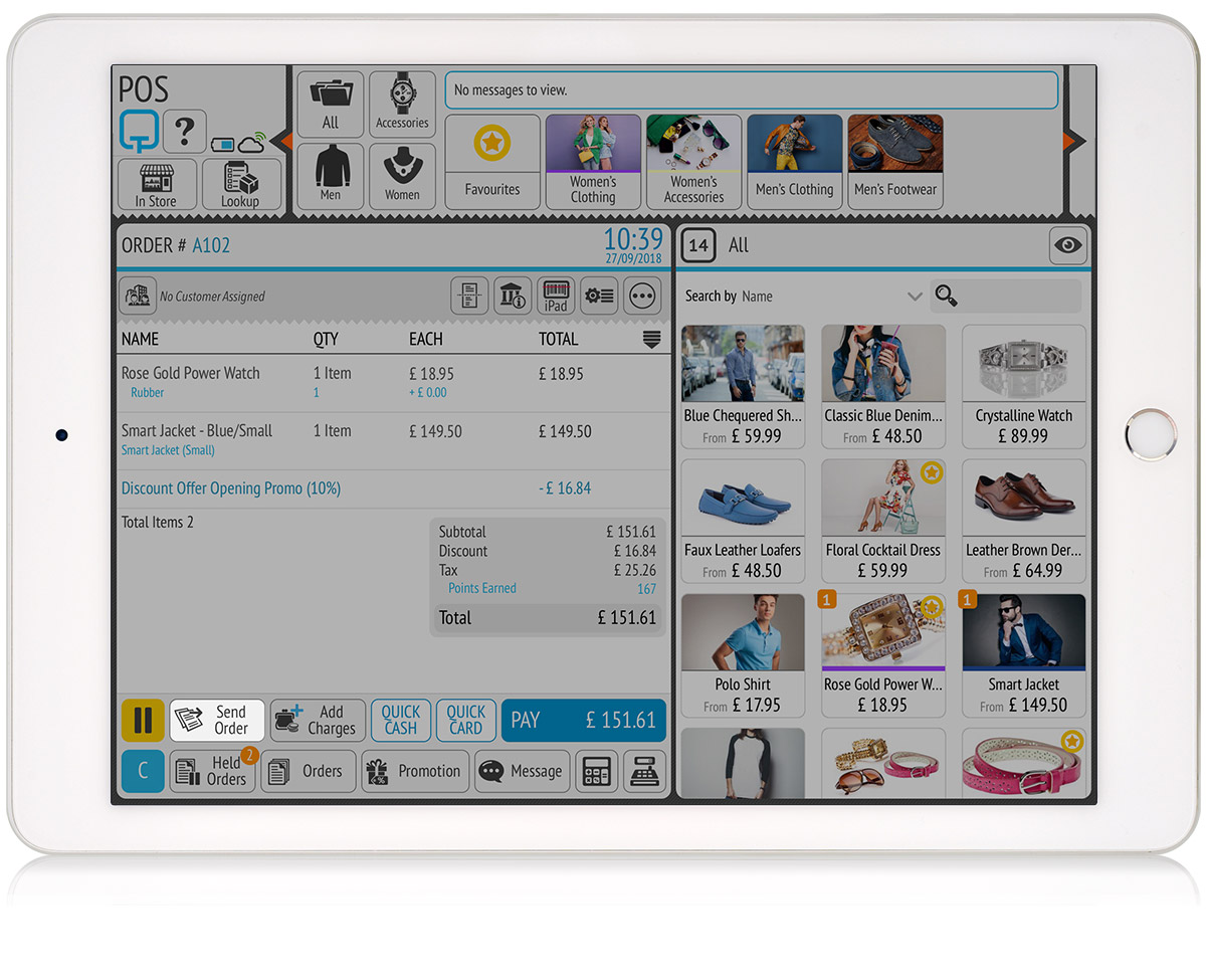 tillpoint epos stockroom orders designed for easy of use