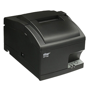 Star SP742 Ethernet Impact Printer Black