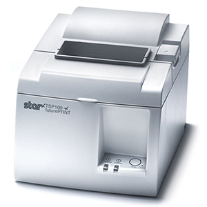 Star TSP143LAN Ethernet Printer White